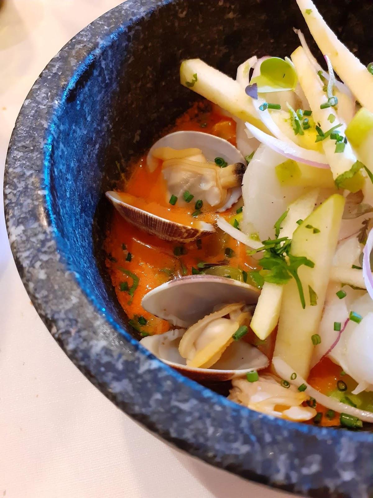 Cod seviche - Can Marc restaurant - Palautordera