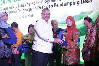 Wow...Desa Labuan Kecamatan Labuan Mendapat Penghargaan Dari Kemendes Dengan Kategori IDM