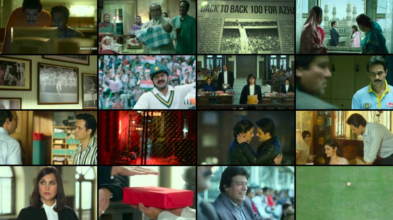 Azhar 2016 Hindi DVDScr 250MB Screenshot