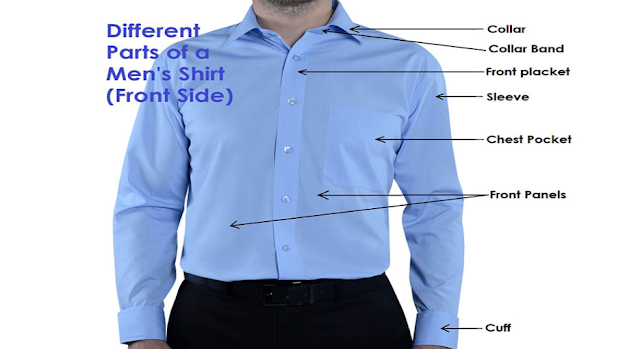 Which of these is part of a dress shirt?