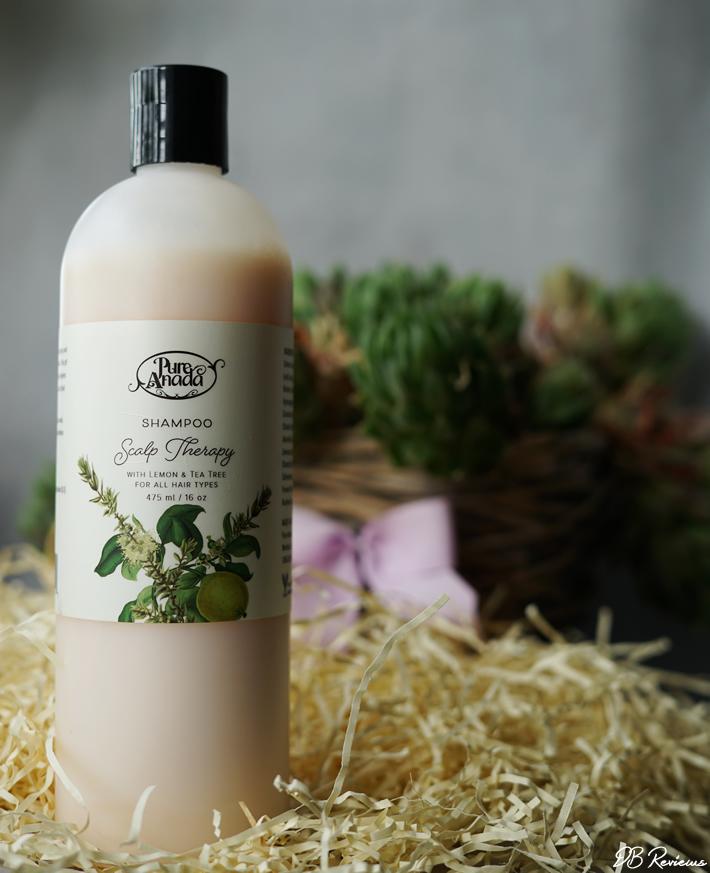 Pure Anada Scalp Therapy Shampoo with Lemon & Teatree