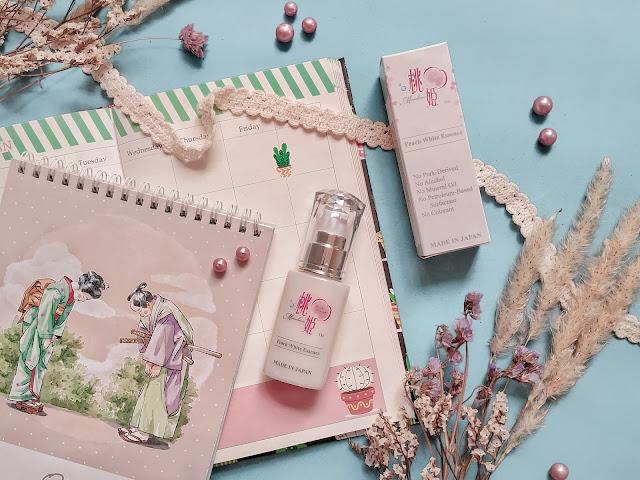 Skincare Halal Jepang Peach White Essence Momohime