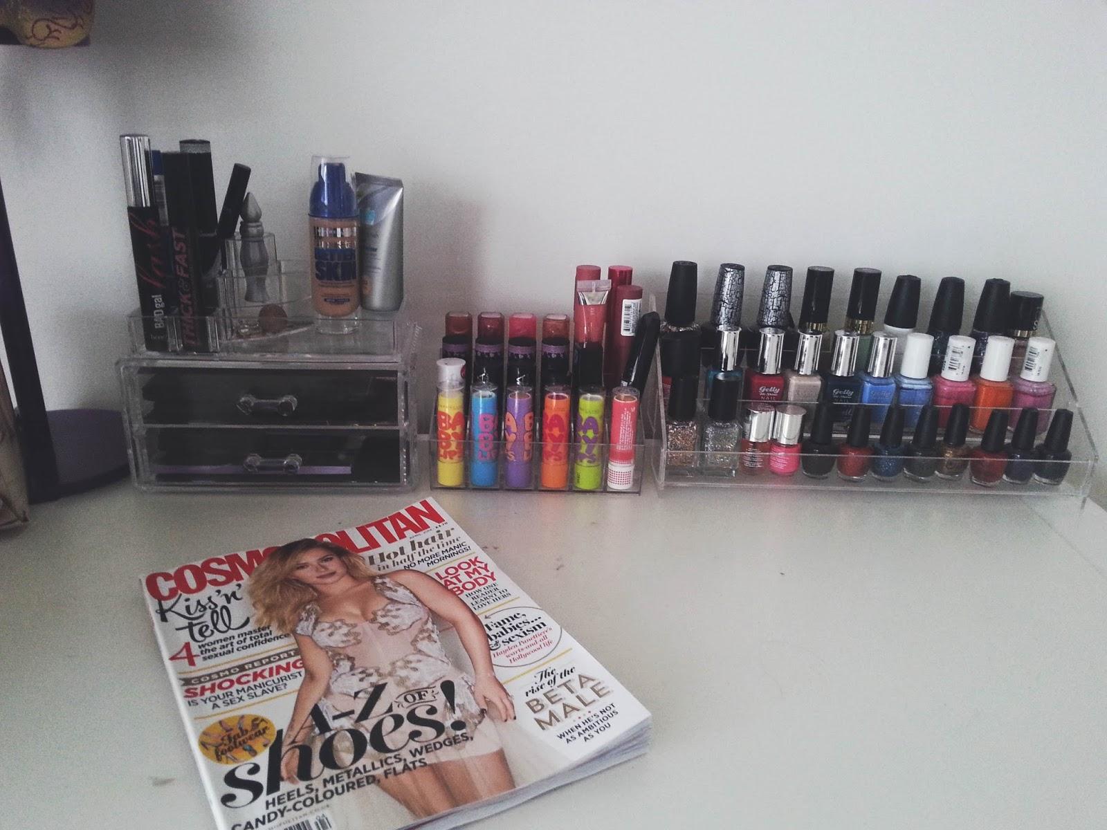 Acrylic MakeUp Organiser's