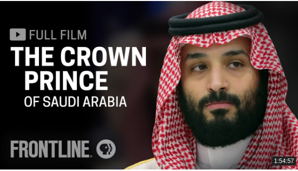 Documentário completo: The Crown Prince of Saudi Arabia