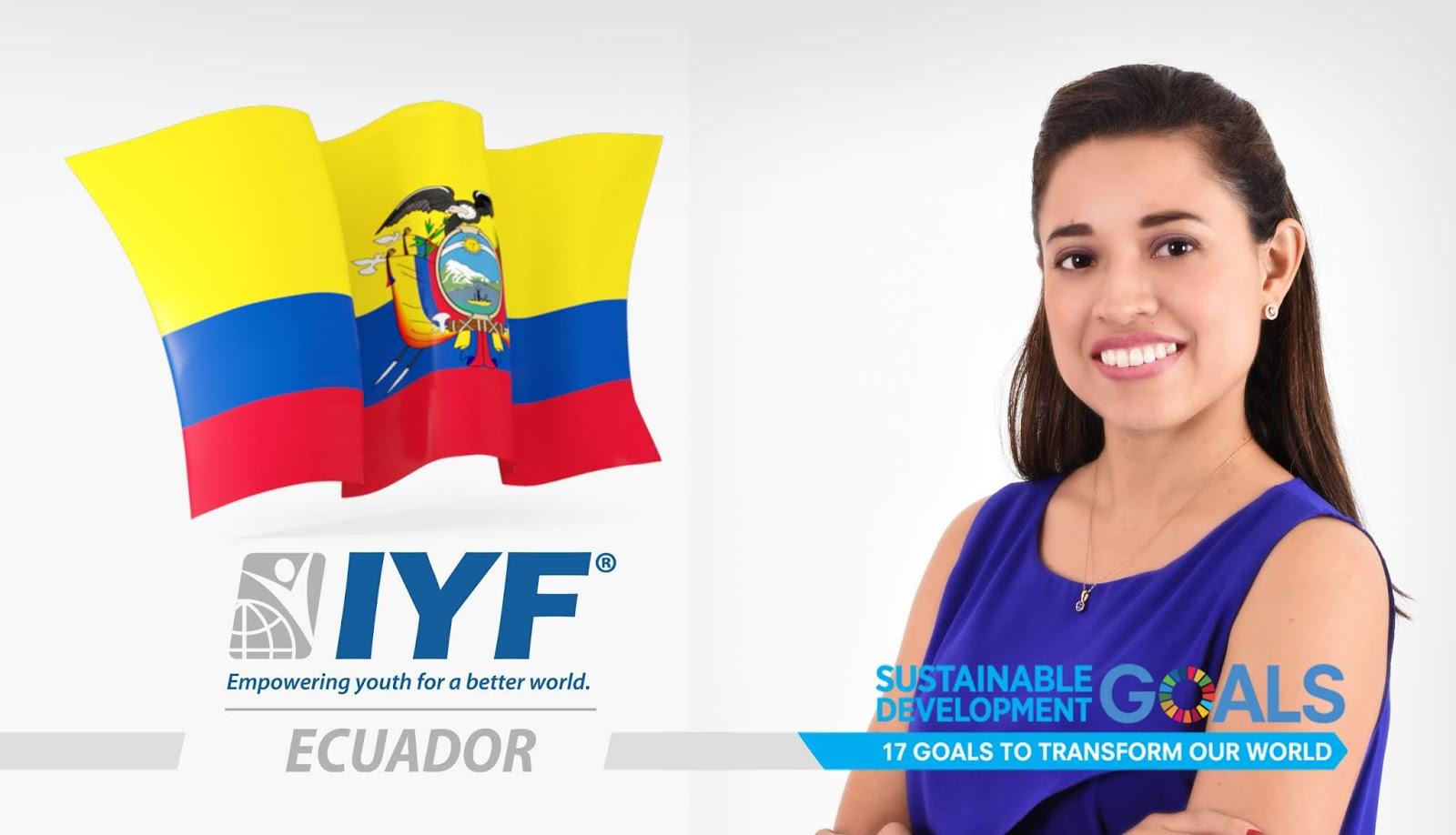 Cristina Huayamave, IYF Representative in Ecuador