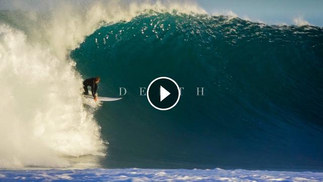 DEPTH - Surfing in Slow Motion 100fps