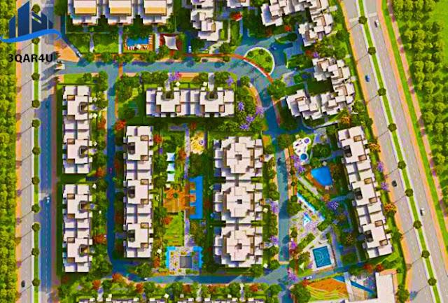 شقه | شقة للبيع في كمبوند ازاد  مساحة 144 متر استلام 6\2020