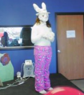Easy Recycled Bunny Costume Ideas and bunny jokes