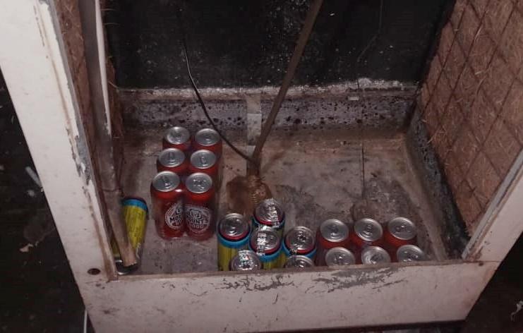 विशेष अभियान के तहत ग्राम मिण्डल में जप्त की गई अवैध शराब