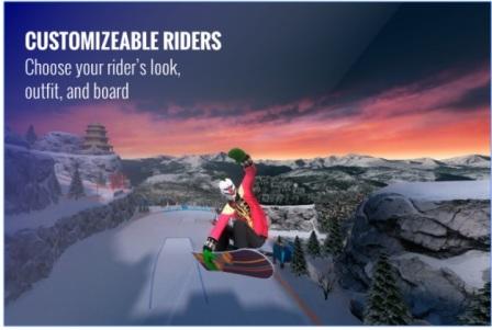 Game Ski Salju Android: Snowboard Party APK MOD