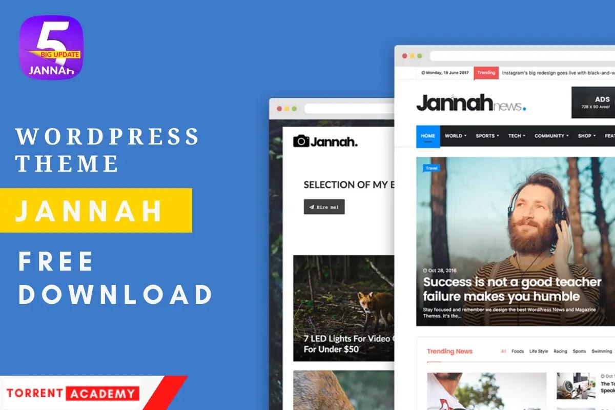 Jannah WordPress Theme Free Download 2021