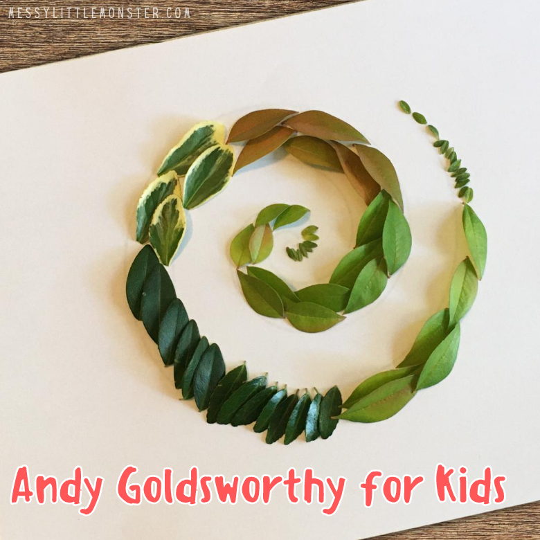 Famous artists for kids - Andy Goldsworthy