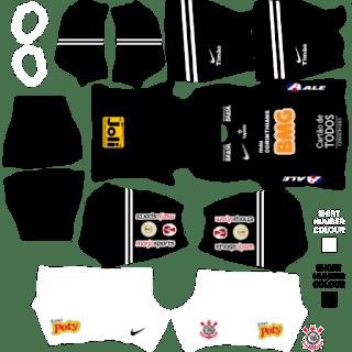 Kit De Uniforme Do Corinthians Para Dream League Soccer