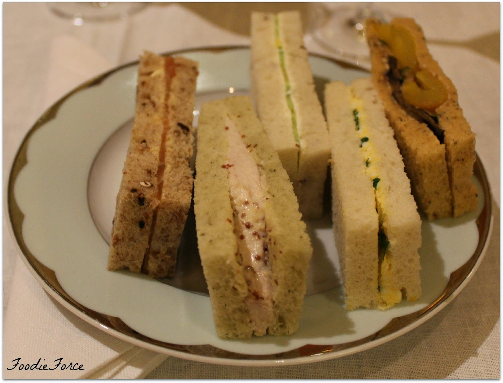 The Dorchester hotel Sandwiches