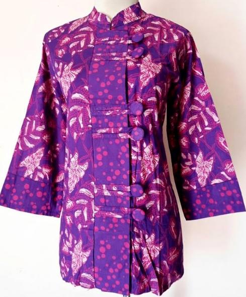 Gambar Baju Batik Kantor Wanita: 10 Model Baju Batik Kantor Wanita Berjilbab 2018