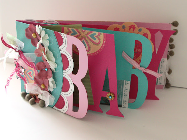 Silhouetted Baby Album Tutorial (Grad too)