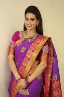 Manjusha in Saree Latest Photos at SFAs  TollywoodBlog