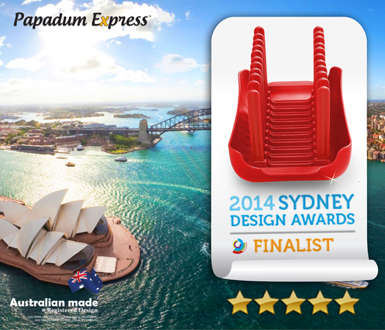 Papadum Express 2014 Sydney Design Awards