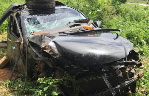 The sultan of sokoto son involved in an auto car crash after getting high on codine