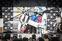 3 podium 2017 Pro Zarautz foto WSL Poullenot Aquashot