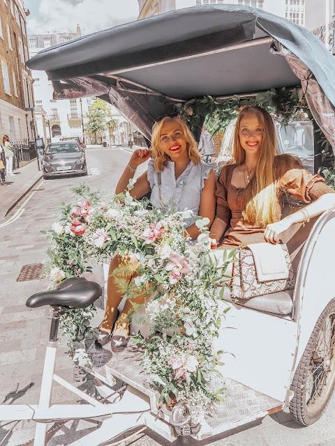 Belgravia London Floral Tuk Tuk