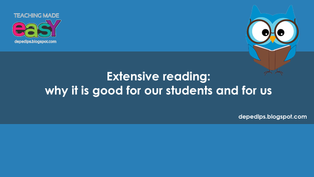 Extensive reading: why it is good for our students and for us