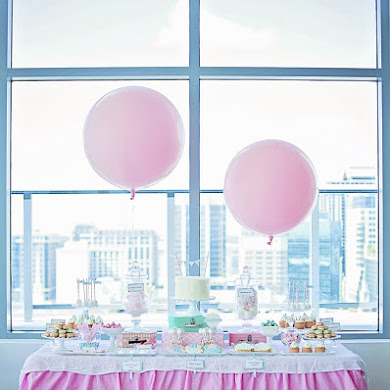 A Balloon Themed Baby Shower
