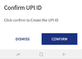 Confirm UPI ID