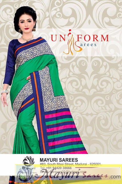 Corporate Uniform Saris