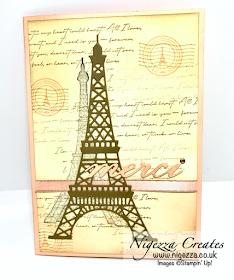 Nigezza Creates with Stampin' Up! & Parisian Beauty