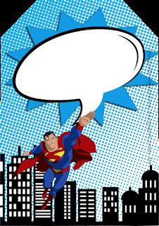 Para marcapáginas de Superman Comic.