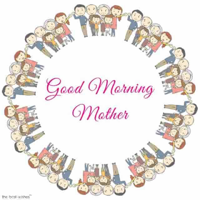 good morning my mother pic