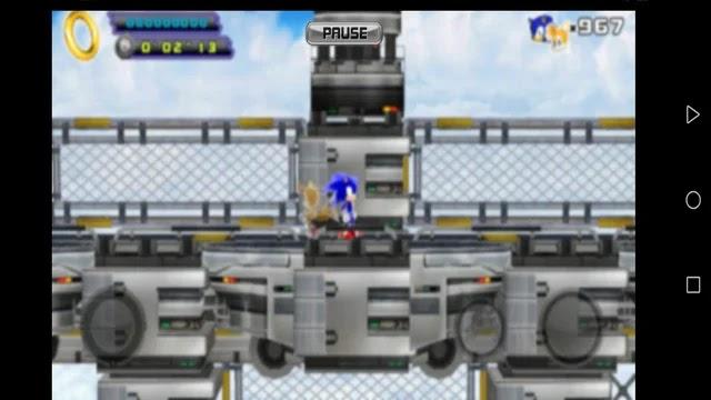 Sonic The Hedgehog 4 Episode II مهكرة   تحميل لعبة القنفذ سونيك Sonic 4 Episode II مهكرة أحدث إصدار مجانا