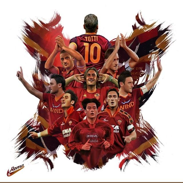 É possivel mensurar a grandeza de Francesco Totti?