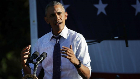 Obama blasts Donald Trump in fiery speech while campaigning for 'sick/bed-ridden' Hillary Clinton