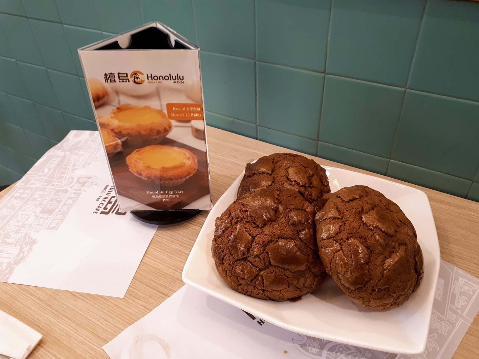hk honolulu cafe MANILA philippines review