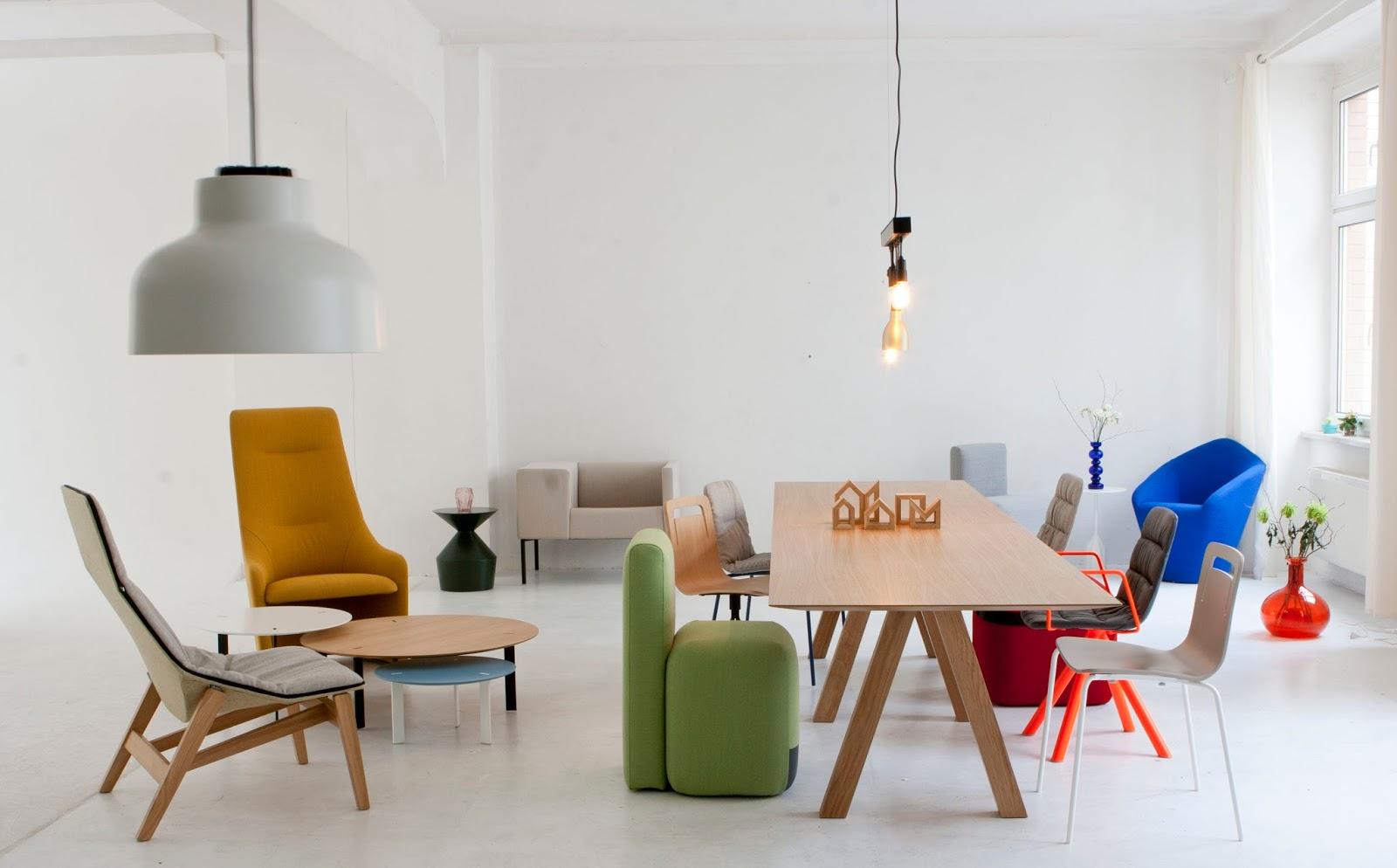 viccarbe showroom halbinsel berlin agence at. Black Bedroom Furniture Sets. Home Design Ideas