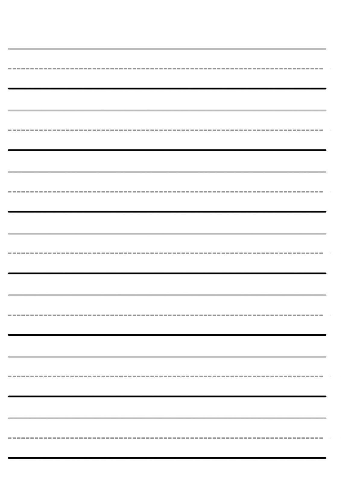 Worksheet Blank Handwriting : Letter tracing worksheets letters u z