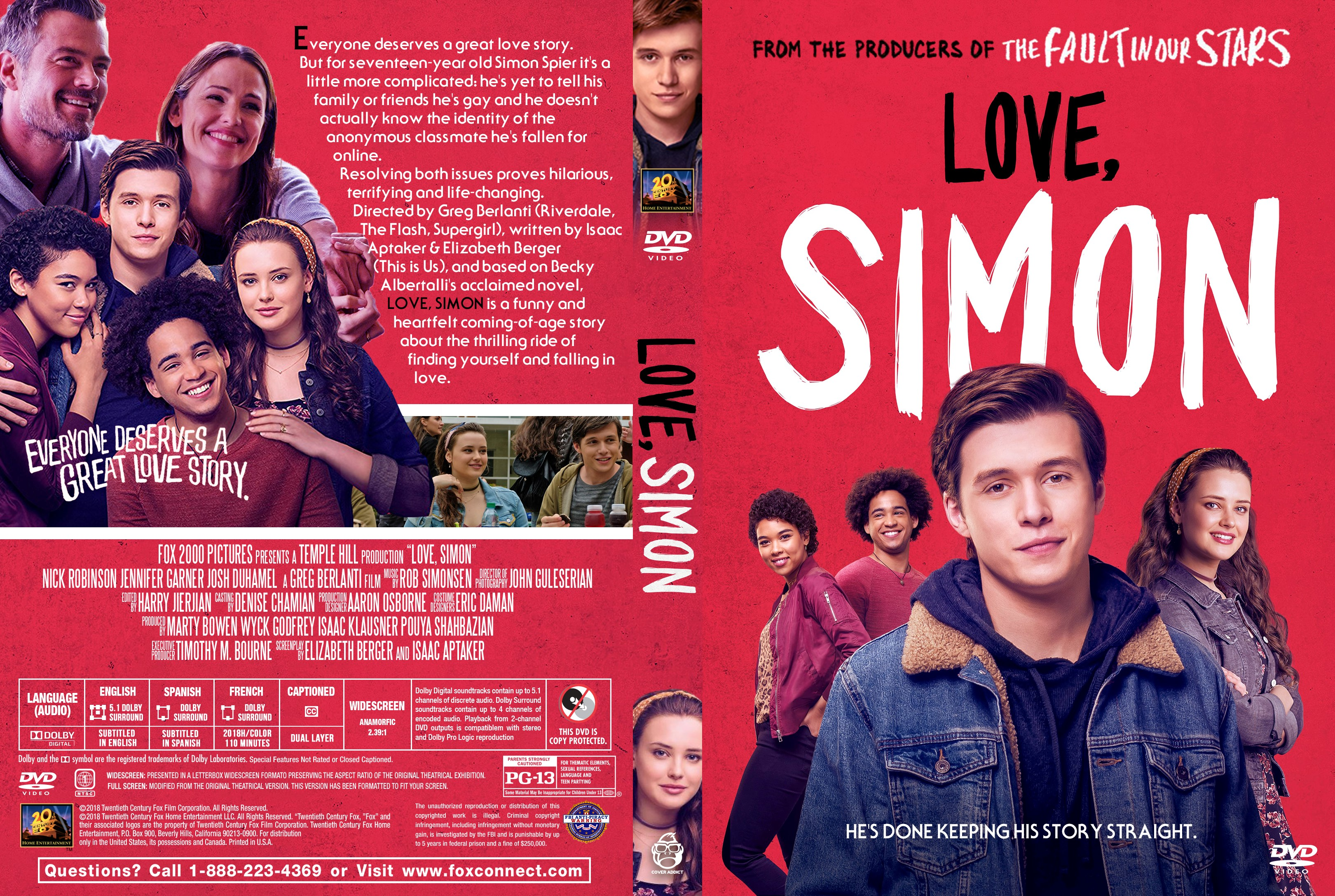 love simon dvd