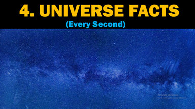 Universe Facts Every Second, Universe Facts, Every Second