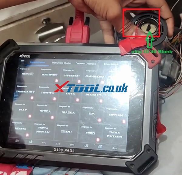 Xtool X100 Pad2 Program 2017 Suzuki Omni All Keys Lost  01