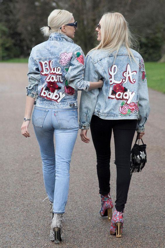 Fashionista LFW Street Style - Shea Marie & Caroline Vreeland