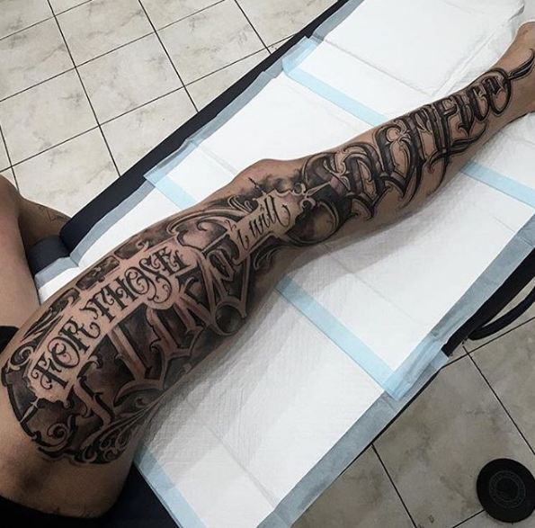Thigh Tattoos For Men