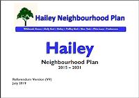 Cover of Hailey Neighbourhood Plan