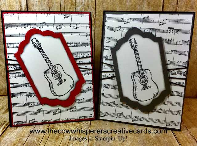 Card, Sheet Music, Country Livin, Rustic