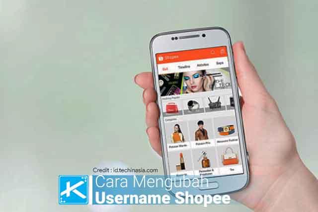 ✪Cara mengubah username profil dan nama toko di aplikasi Shopee terbaru ✪ melalui HP Android / iOS dan Komputer (PC) / laptop.✪