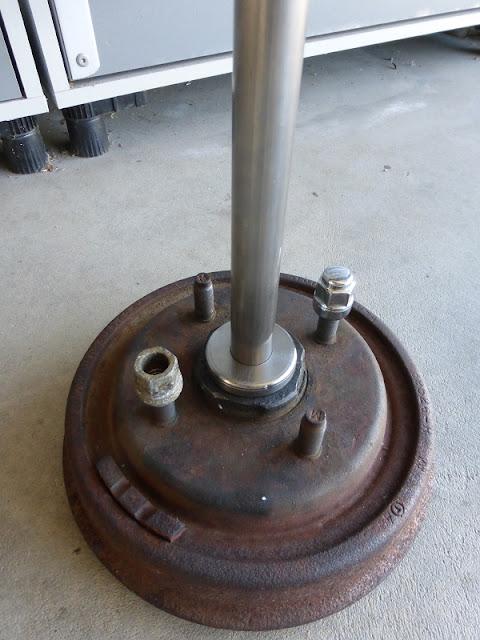 mic stand tube adapter hub