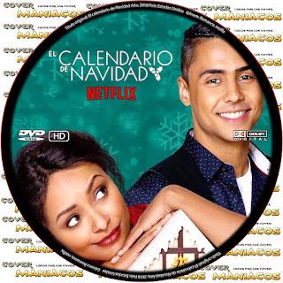 GALLETA COVER The Holiday Calendar - EL CALENDARIO DE NAVIDAD [COVER DVD]