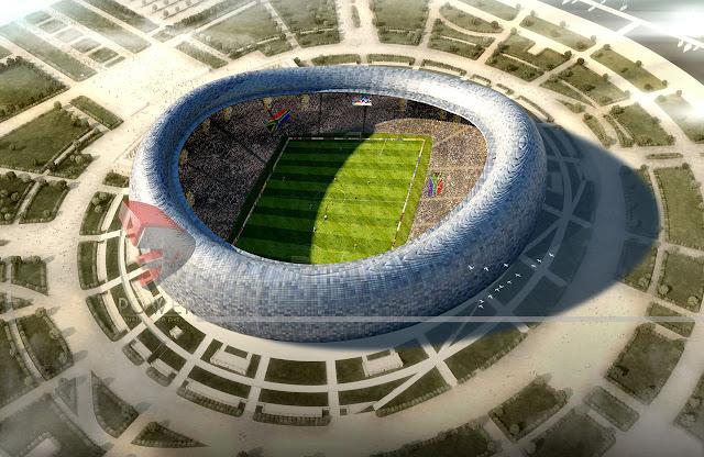 3D Rendering Exterior/Interior Design Of Stadium