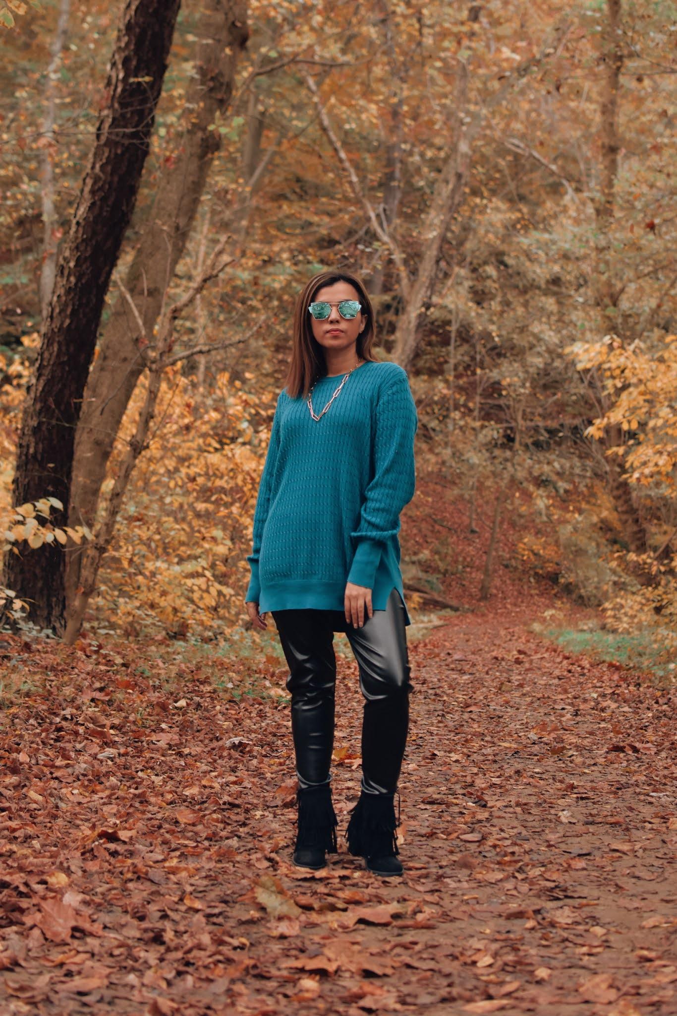 como crear outfits desde cero-faux leather pants-otoño 2020-mariestilo
